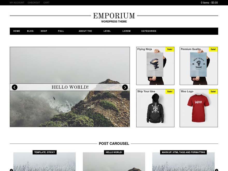 Emporium WooCommerce