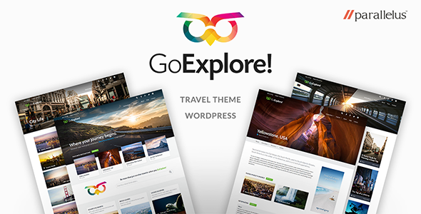 goexplore wordpress travel theme