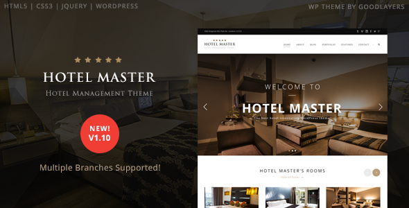 hotelmaster travel template