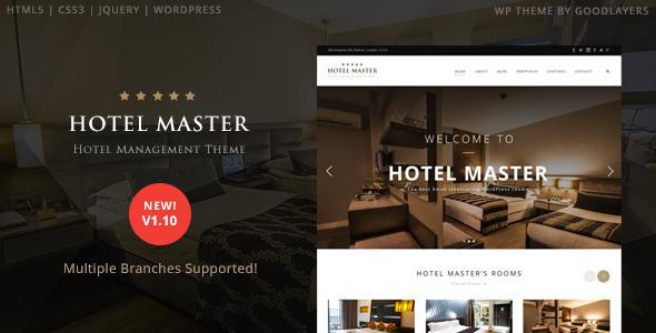 hotelmaster travel template